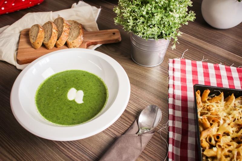 recept na špenátovou polévku