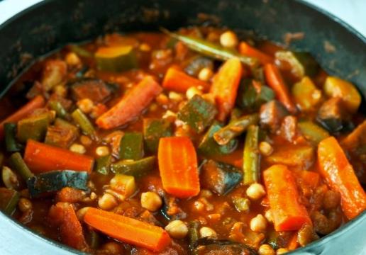 zeleninový tajine marocký