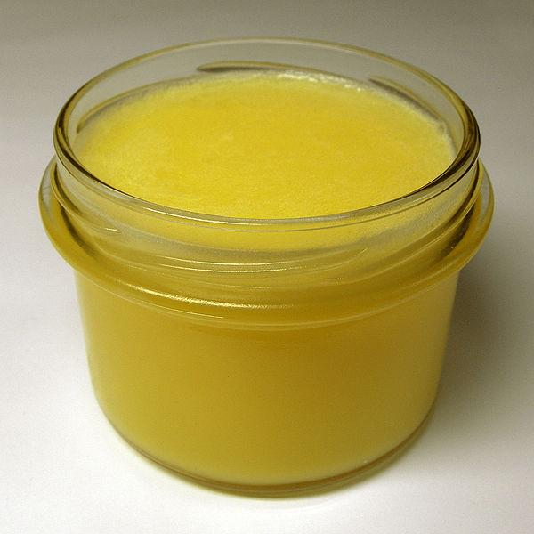 přepuštěné máslo recept