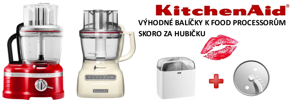 KitchenAid food processor balíčky