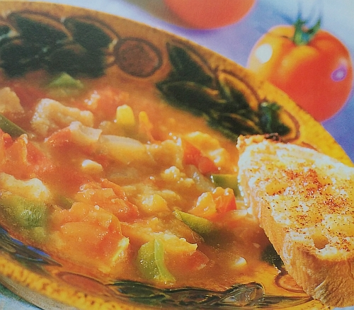 Španělská rajčatová polévka