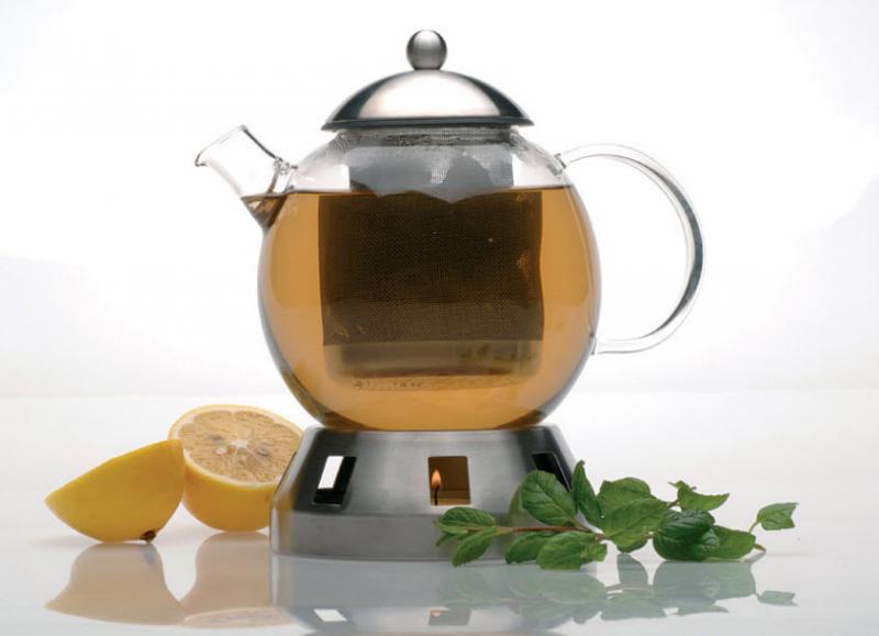 Skleněná konvice na čaj BergHOFF - STUDIO 1,3 l