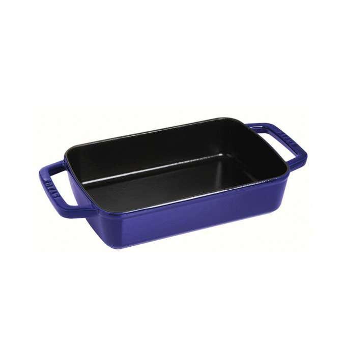 Staub litinový obdélníkový pekáč, 20 x 30 cm, tmavě modrá