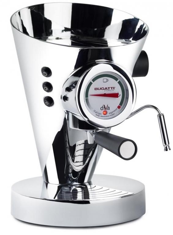 Bugatti Diva 15-DIVACR kávovar chrom