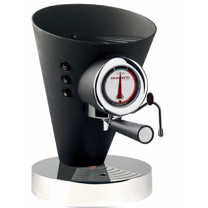 Bugatti Diva 15-DIVAN kávovar černý