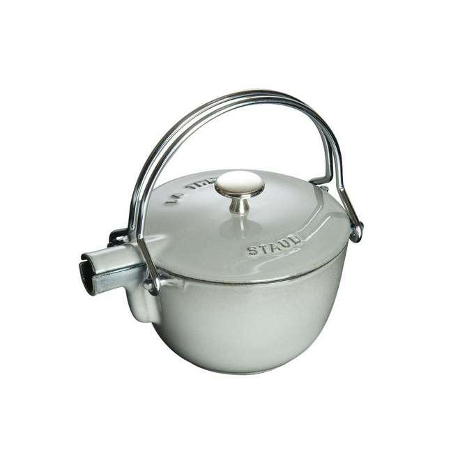 Staub litinová konvice na čaj, 16,5 cm, grafitově šedá