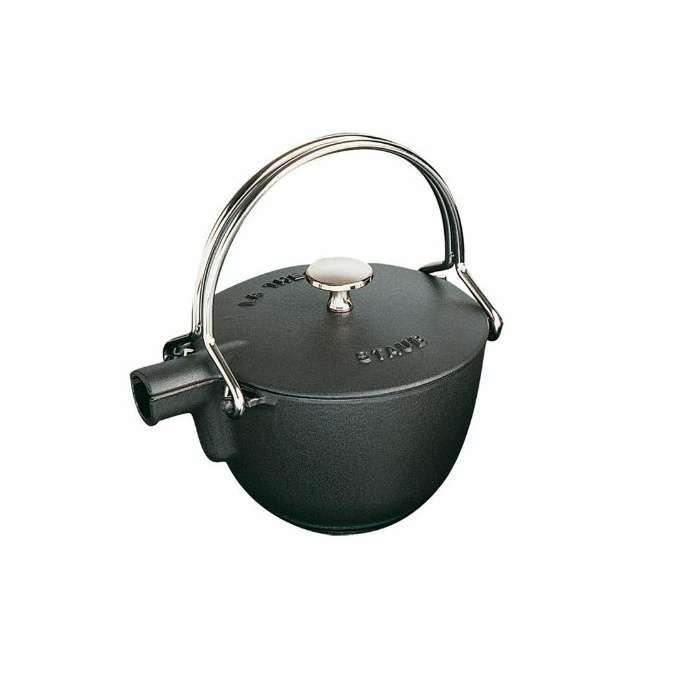 Staub litinová konvice na čaj, 16,5 cm, černá