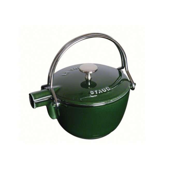 Staub litinová konvice na čaj, 16,5 cm, bazalková