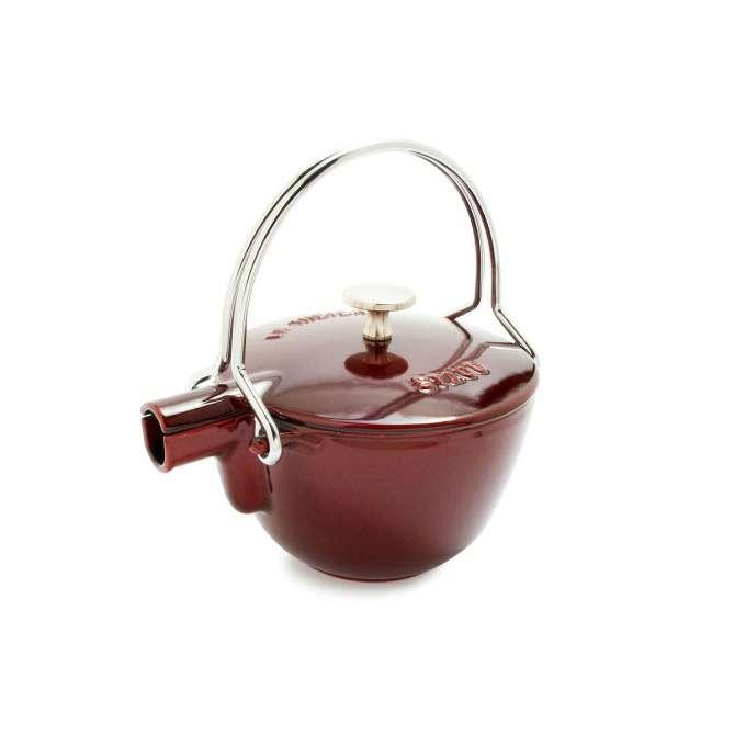Staub litinová konvice na čaj, 16,5 cm, grenadina