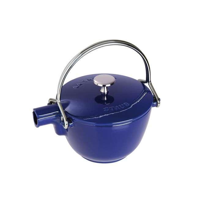 Staub litinová konvice na čaj, 16,5 cm, tmavě modrá
