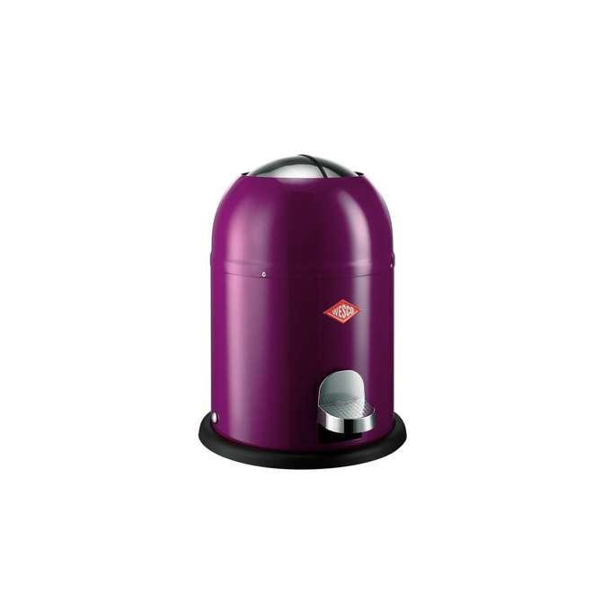 Odpadkový koš Single Master 9 l, fialový