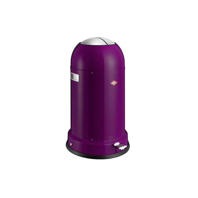 Odpadkový koš Kickmaster classic soft 33 l, fialový