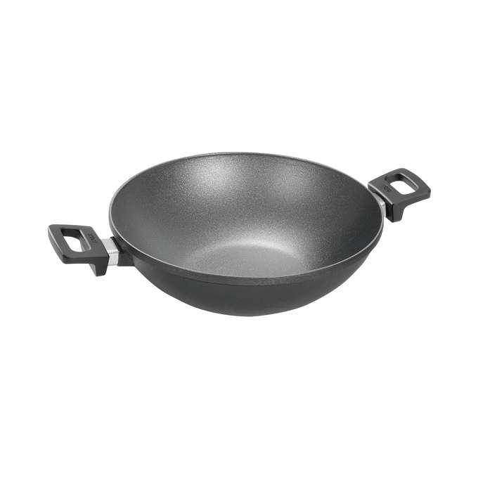 Woll Induction line Woll Nowo Titanium pánev wok, 32 cm