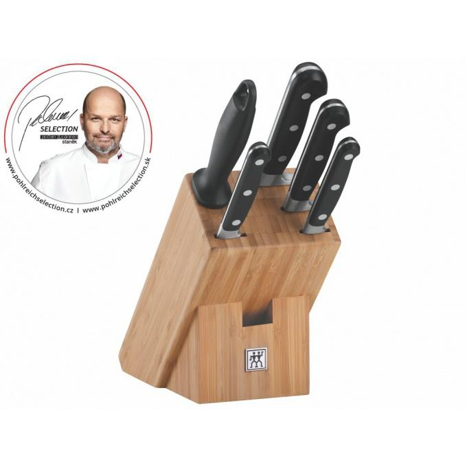 "Pohlreich Selection Zwilling PS Professional""S"" blok s noži - 6 ks"