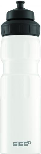 Lahev SIGG WMB Sports White Touch 0,75 l
