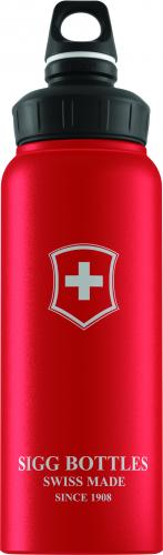LAHVE A TERMOSKY Lahev SIGG WMB Swiss Emblem Red Touch 1 l