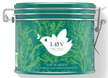 Lov Organic Lov is Green, kovová dóza 100 g