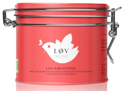 Lov Organic Lov is Beautiful, kovová dóza 100 g