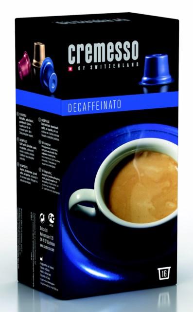 Cremesso Caffé Decaffeinato 16 ks