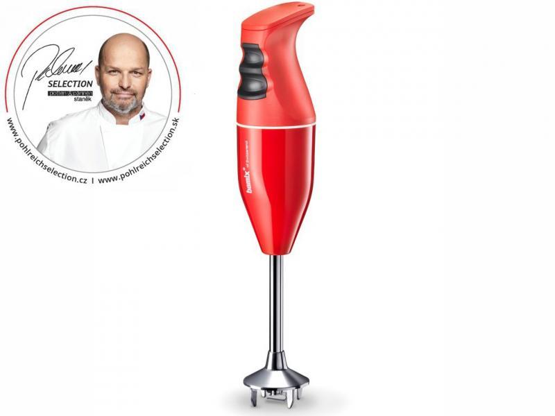 Bamix PS tyčový mixér Classic 160 W, červený