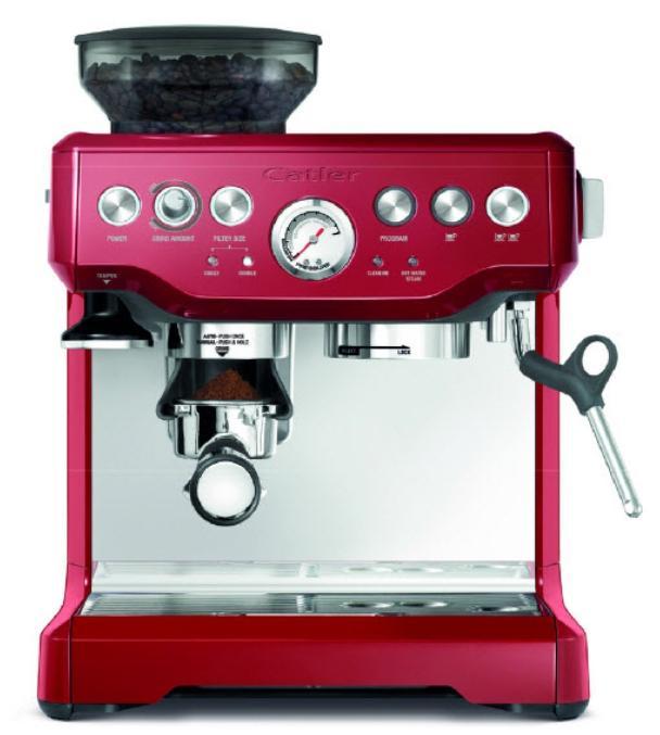 Catler ES 8013 espresso kávovar červený