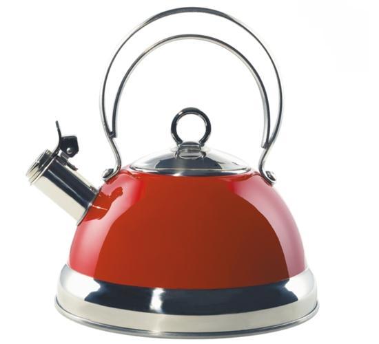 Wesco konvice na vaření vody, červená