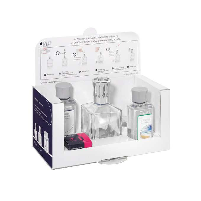 Lampe Berger Essentielle set Cube