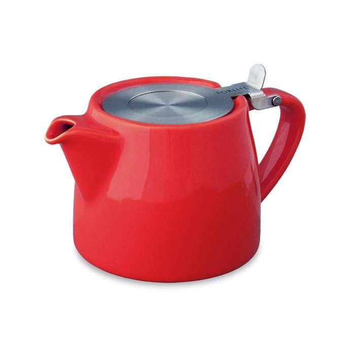ForLife čajová konvice Stump, 0,55 l, červená