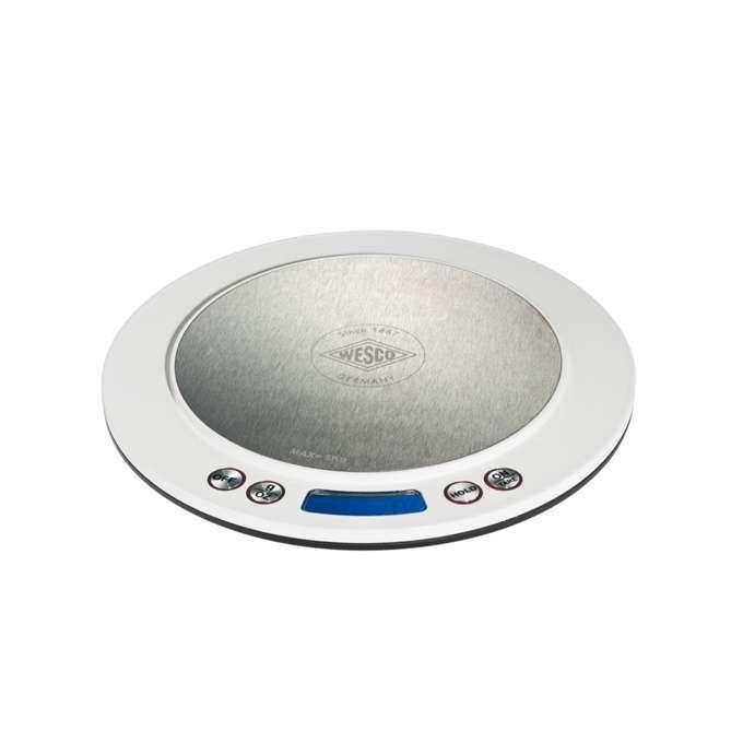 Wesco kuchyňská váha digitální, bílá