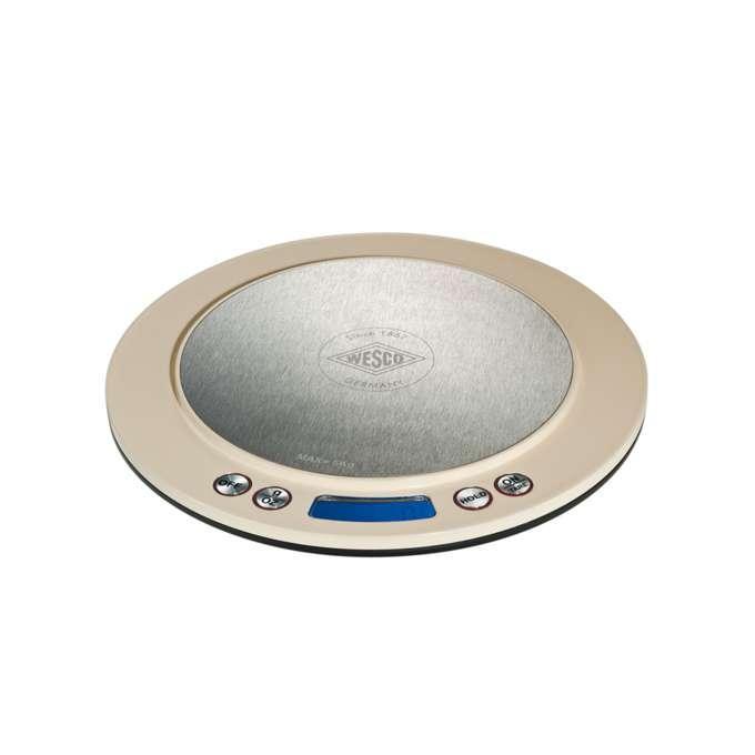 Wesco kuchyňská váha digitální, mandlová