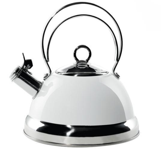 Wesco konvice na vaření vody, bílá