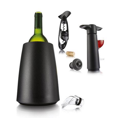 VacuVin Set na víno v dárkovém balení, 7 ks