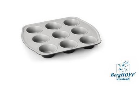 Kulatý plech na pečení muffinu 9 ks BergHOFF