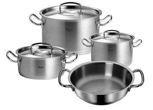 Sada nádobí – nerez, 4 dílná - Original profi collection® Fissler