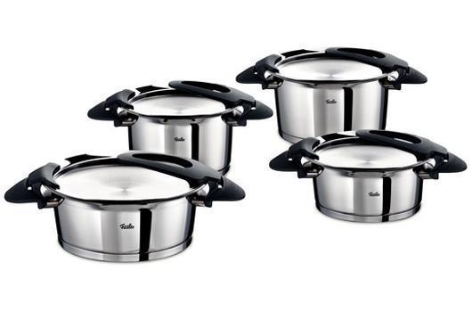 Sada nádobí nerezová - 4 dílná - Intensa® Fissler