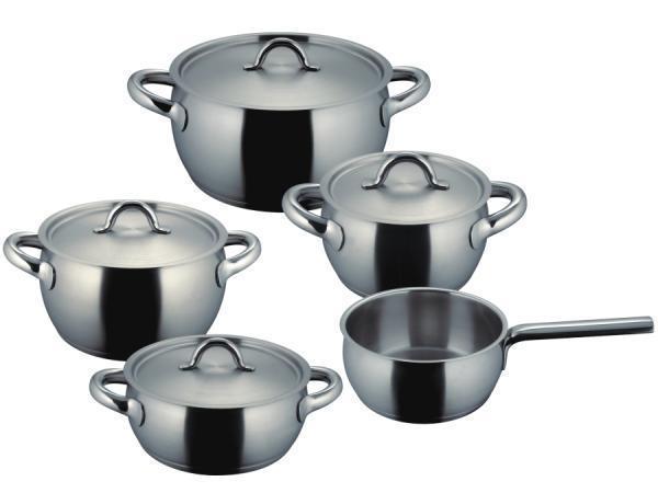 Sada nádobí nerezová - 5 dílná - Fiamma® Fissler