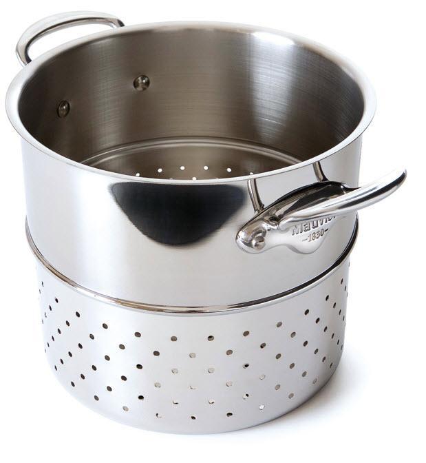 MAUVIEL M'cook - nerezová napařovací vložka na těstoviny 24 cm