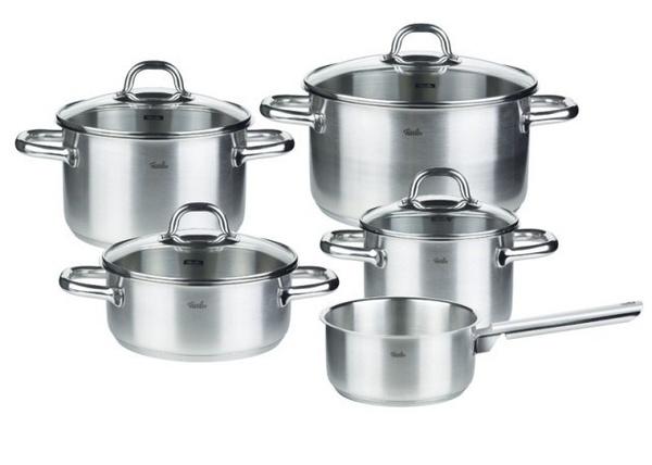 Sada nádobí 9 ks - nerez – Korfu® - Fissler