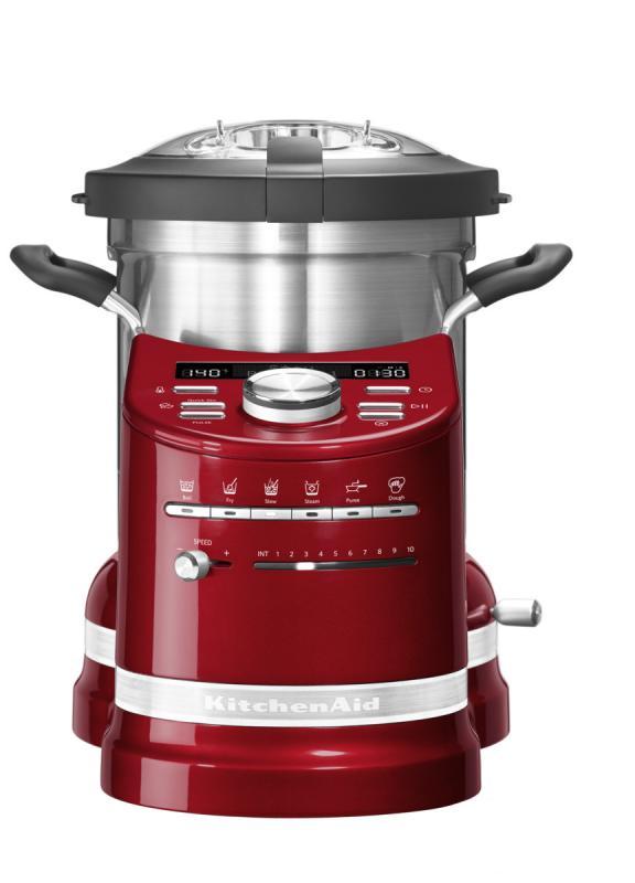 KitchenAid varný robot Artisan - 5KCF0104ECA - červená matalíza