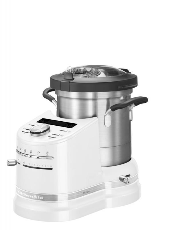 KitchenAid varný robot Artisan 5KCF0103EFP - matně perlová