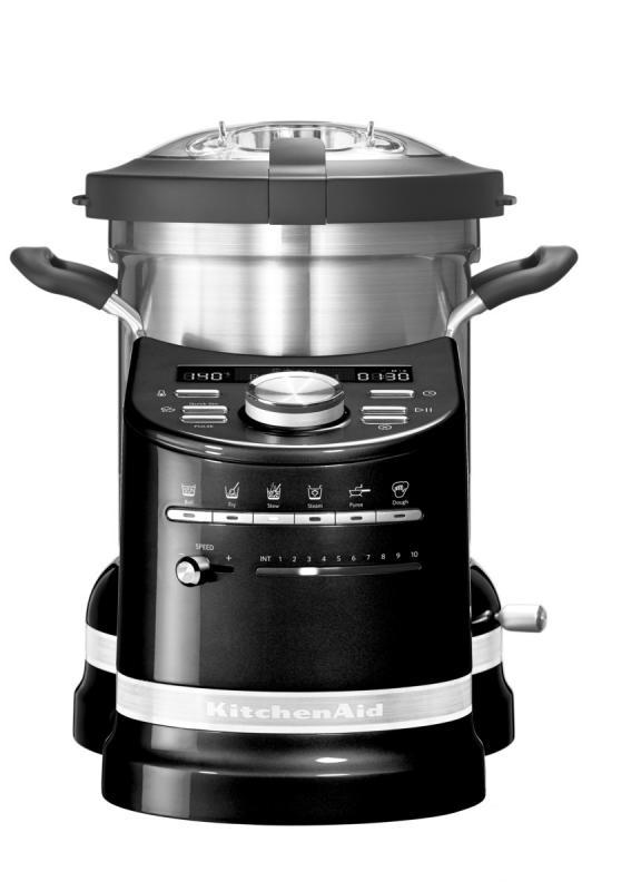KitchenAid varný robot Artisan - 5KCF0104EOB - černý