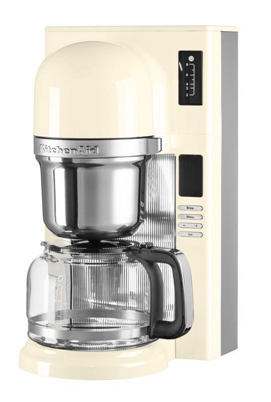 KitchenAid kávovar na přelévanou kávu 5KCM0802 mandlová