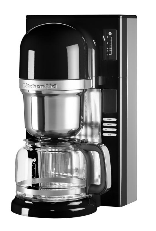 KitchenAid kávovar na přelévanou kávu 5KCM0802 černá