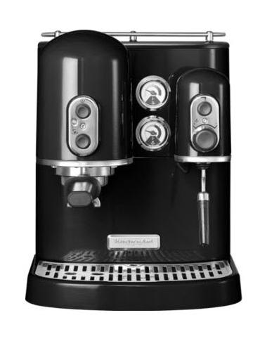 KitchenAid Artisan 5KES2102EOB espresso kávovar, černá