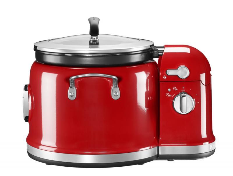KitchenAid Sada Multifunkční hrnec + Míchací stojan 5KMC4244E - královská červená