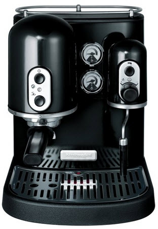KitchenAid Artisan 5KPES100EOB espresso kávovar, černá