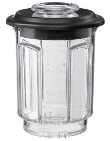 KitchenAid nádoba plast 0,75l (černé víko) 5KSBCJ
