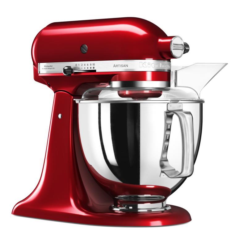 KitchenAid robot Artisan 5KSM175PSECA červená metalíza + Akční set KitchenAid balíček s příslušenstvím FPPC