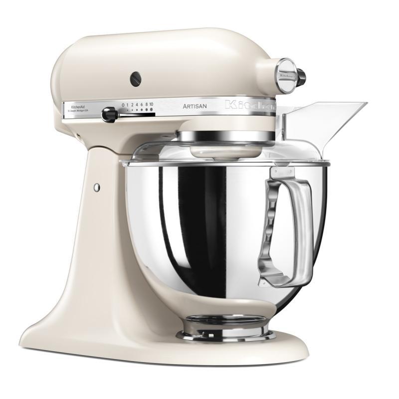 KitchenAid robot Artisan 5KSM175PSELT bílá káva + Akční set KitchenAid balíček s příslušenstvím FPPC