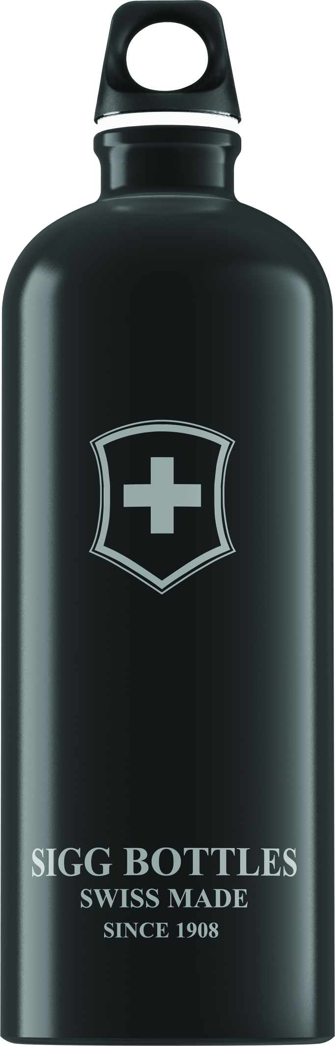 Lahev SIGG Swiss Emblem Black 1 l